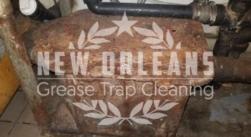 Leaking Under Sink Commercial Grease Trap in New Orleans